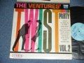 """TWIST PARTY VOL.2  LIGHT BLUE  LABEL WITH """"STEREO"""" SEAL On BOTTOM"""