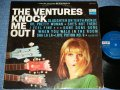 """KNOCK ME OUT! ( Yes """"Tomorrow's Love""""): DARK BLUE with SILVER PRINT  Label"""