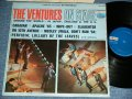 THE VENTURES ON STAGE     Dark Blue with Silver Print Label STEREO