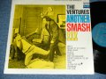 "ANOTHER SMASH    ""TWO MEN with VIOLIN COVER"" TURQUOISE GREEN  LABEL"