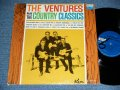 "Play COUNTRY CLASSICS       First Cover Design   ""DARK  BLUE With BLACK PRINT Lavel"" STEREO"