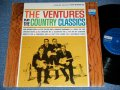 "Play COUNTRY CLASSICS       First Cover Design   "" DARK BLUE With BLACK PRINT Lavel"" STEREO"