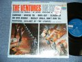 THE VENTURES ON STAGE     Dark Blue with Silver Print Label STEREO with Original Price TAGG