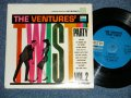 THE VENTURES' TWIST PARTY VOL.2  US BLUE with BLACK Print Label