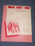 THE VENTURES - WALK DON'T RUN MUSIC SHEET / 1960 US ORIGINAL BOOK