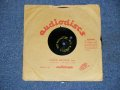 "DON WILSON - SALLY ( DIFFERENT VERSION )   1960's US ORIGINAL One Sided TEST PRESS for ACCETATE 8"" Single"