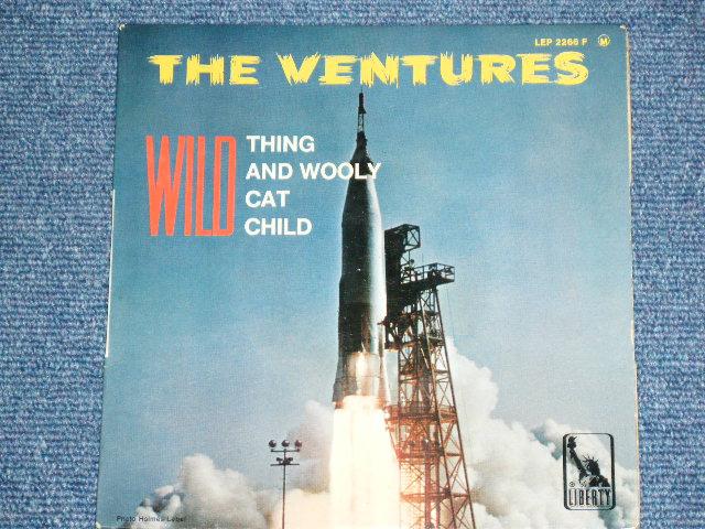 画像1: THE VENTURES - WILD THING  FRENCH PRESSINGS EP With Picture Sleeve