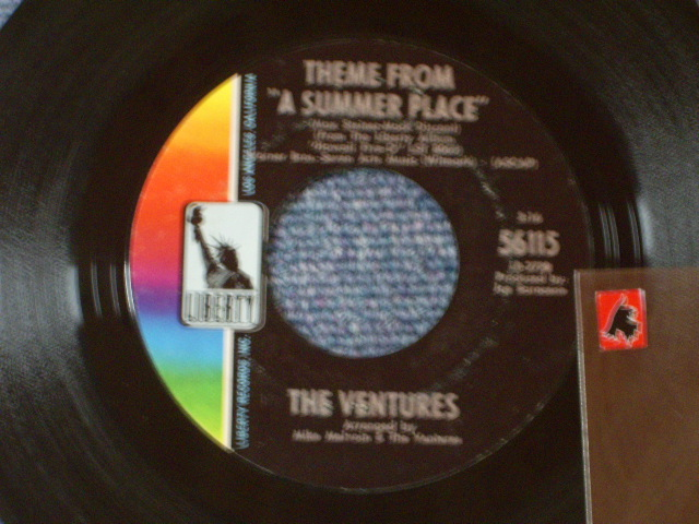 画像1: 56115 THEME FROM A SUMMER PLACE / A SUMMER LOVE