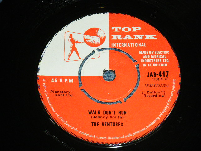 画像1: WALK-DON'T RUN / HOME   UK PRESSINGS