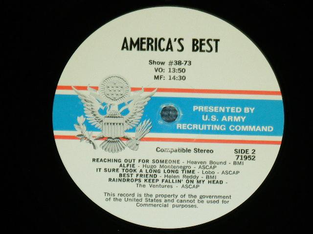 画像1: V.A. THE VENTURES - AMERICA'S BEST SHOW #37-73   US ARMED  FORCE RADIO SHOW