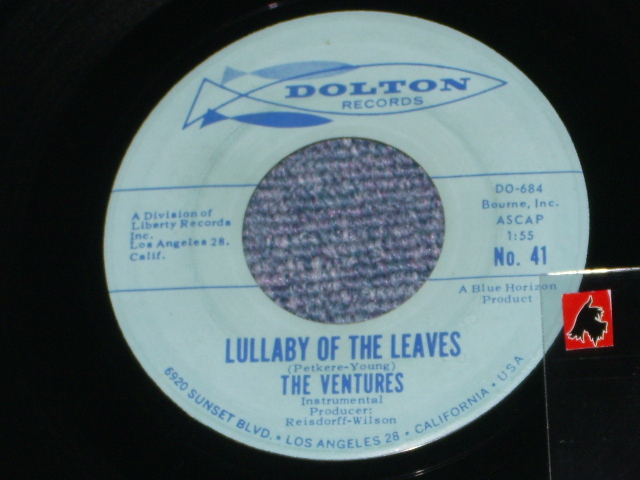 画像1:  LULLABY OF THE LEAVES / GINCHY   Light Blue Label