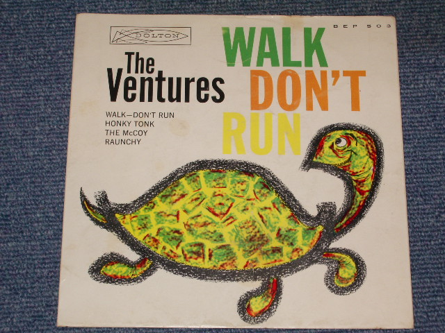 画像1: WALK DON'T RUN US EP With PICTURE SLEEVE