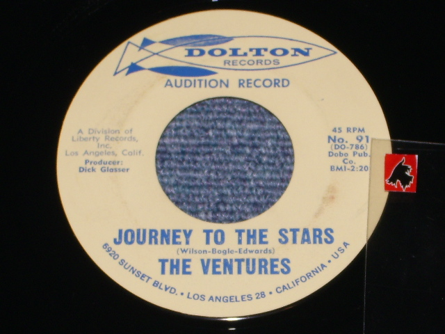 画像1: JOURNEY TO THE STARS / WALKIN' WITH PLUTO   Audition  Label