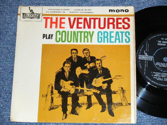 画像1: PLAY COUNTRY GREATS   :   UK PRESSINGS  EP
