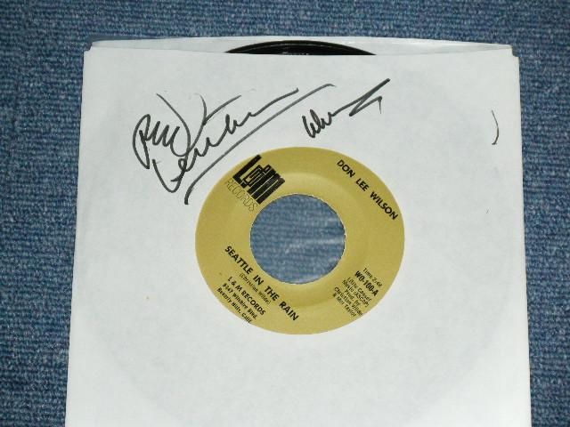 画像1: DON LEE WILSON -  SEATTLE IN THE RAIN / HOW CAN I HELP YOU, GIRL ?      1968  US ORIGINAL 7 Single