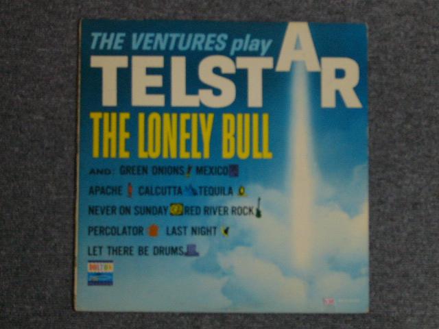 画像1: THE VENTURES PLAY TELSTAR ・THE LONELY BULL DARK BLUE W/BLACK PRINT LABEL