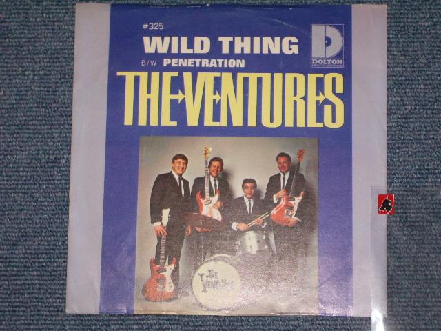 画像1: WILD THINGS / PENETRATION   With Picture Sleeve and Audition Label