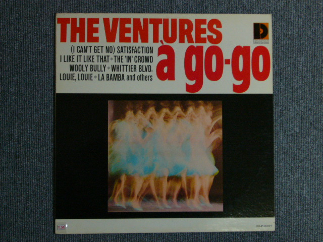 画像1: VENTURES A GO GO Dark Blue With/Silver Print Label