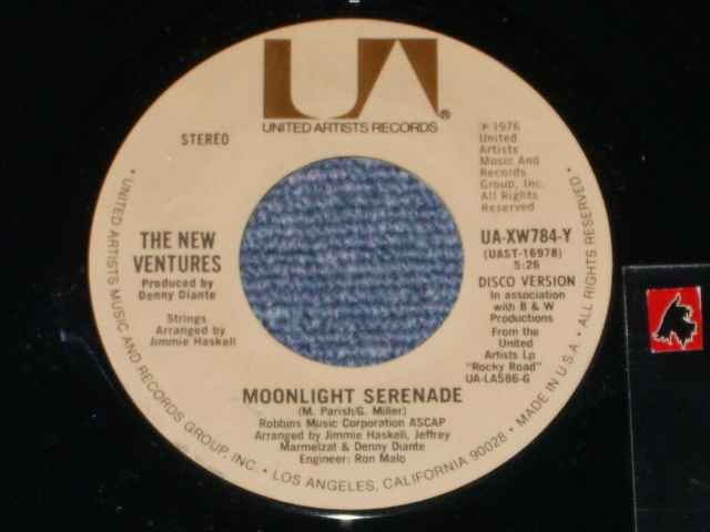 画像1: MOONLIGHT SERENADE( 3:22 ) / MOONLIGHT SERENADE (DISCO VERSION )