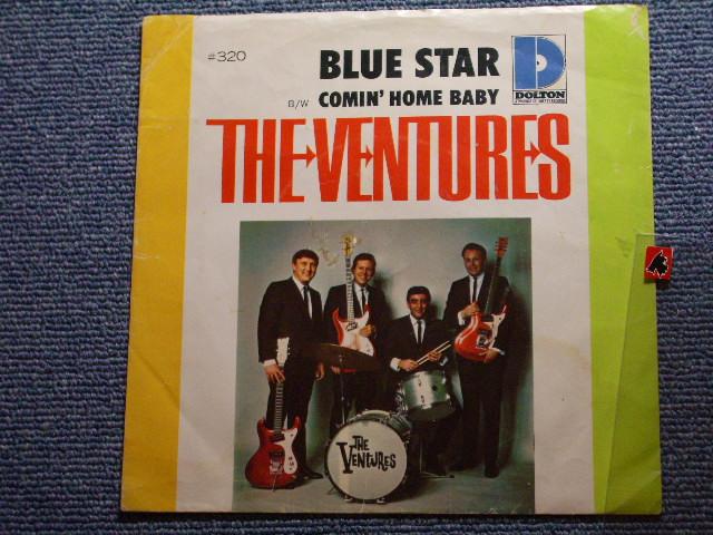 画像1: BLUE STAR / COMIN' HOME BABY   With Picture Sleeve and Audition Label Promo