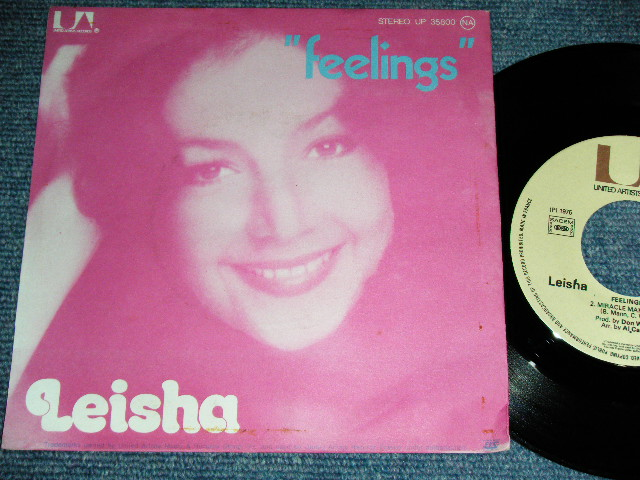 画像1: LEISHA - FEELINGS / MIRACLE MAKER   :  FRANCE ORIGINAL  With PICTURE SLEEVE