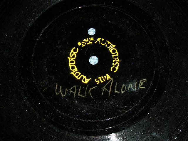 """画像1: DON LEE WILSON -  YOU'LL NEVER WALK A LONE ( KARAOKE Version / UNRELEASED )  : 1960's US ORIGINAL  TEST PRESS for ACCETATE 8"""" Single"""