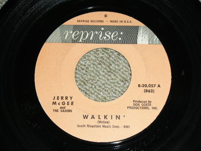 """画像1: JERRY McGEE- WALKIN' / BLUES TRAIN  : 1963?  US ORIGINAL 7""""Sinlge"""
