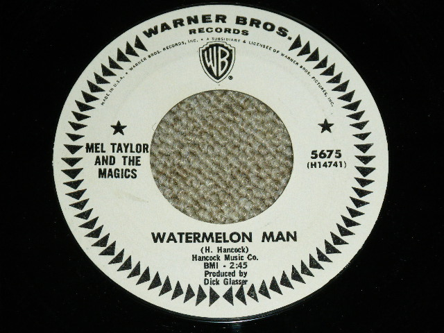 画像1: MEL TAYLOR - WATERMELON MAN / SKOKIAAN : US ORIGINAL WHITE LABEKL PROMO