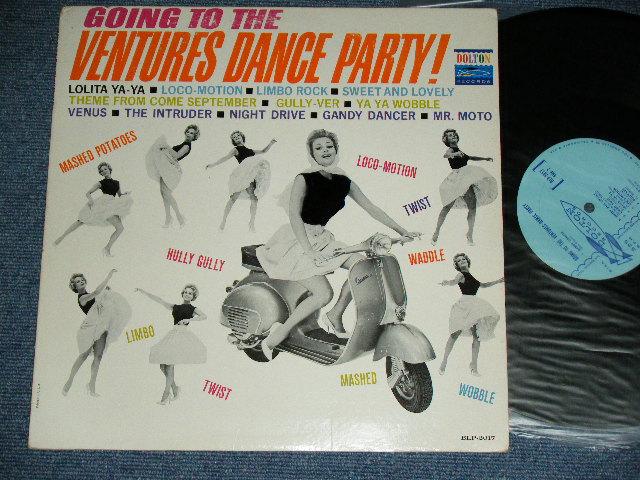 画像1: GOING TO THE VENTURES DANCE PARTY LIGHT BLUE LABEL  MONO