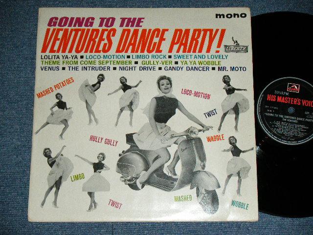 画像1: GOING TO THE VENTURES DANCE PARTY  INDIA  / RED H.M.V.  Label