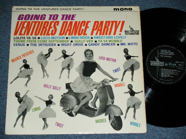 画像1: GOING TO THE VENTURES DANCE PARTY  UK  ENGLAND Black Label MONO