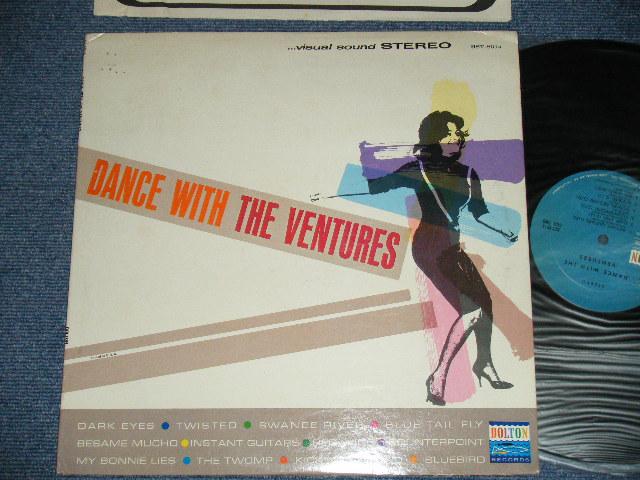 画像1: DANCE WITH THE VENTURES   BLUE with BLACK PRINT LABEL  Stereo