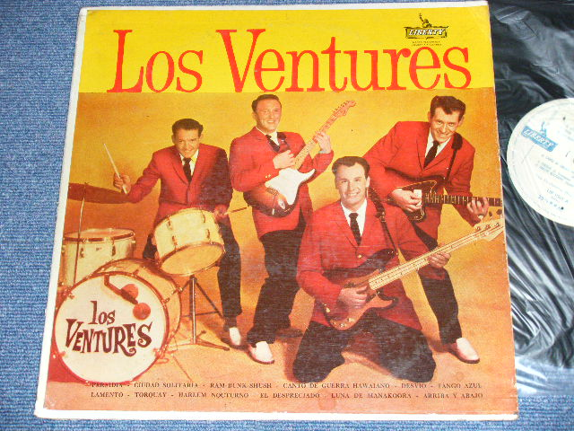 画像1: LOS VENTURES ( Debut Album on ARGENTINA )   ARGENTINA / PROMO  Label