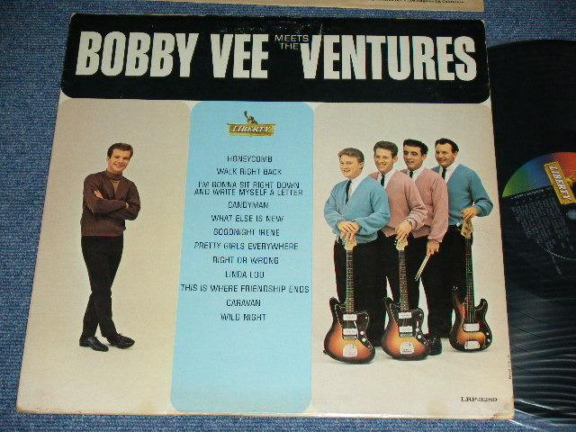 画像1: BOBBY VEE MEETS THE VENTURES    MONO version
