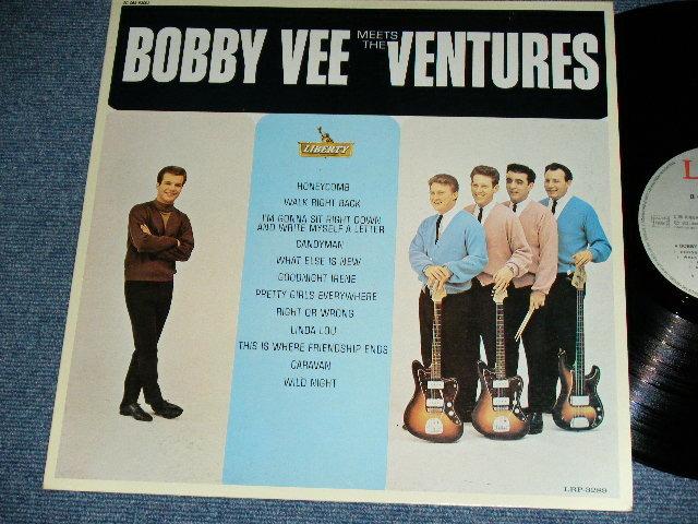 画像1: BOBBY VEE MEETS THE VENTURES    FRANCE FRENCH Pressings / 1980's Original issue