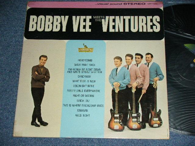 画像1: BOBBY VEE MEETS THE VENTURES    Stereo
