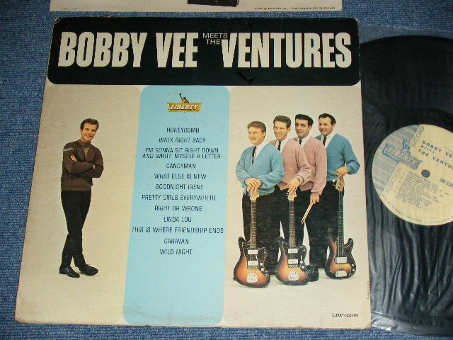 画像1: BOBBY VEE MEETS THE VENTURES    PROMO AUDITION Label MONO version