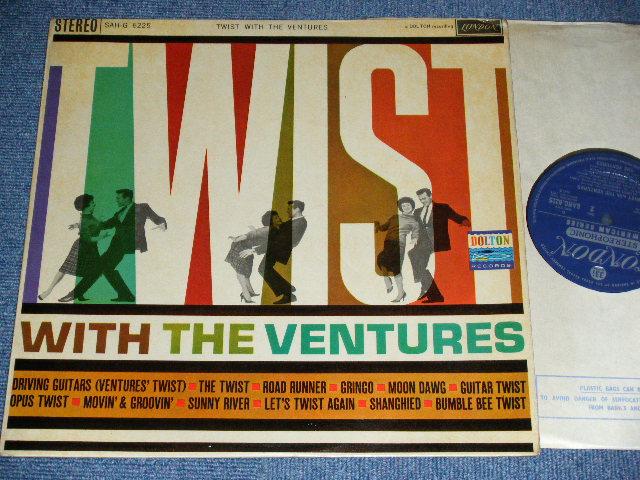 画像1: TWIST WITH THE VENTURES : UK ENGLAND  Press DARL BLUE LABEL