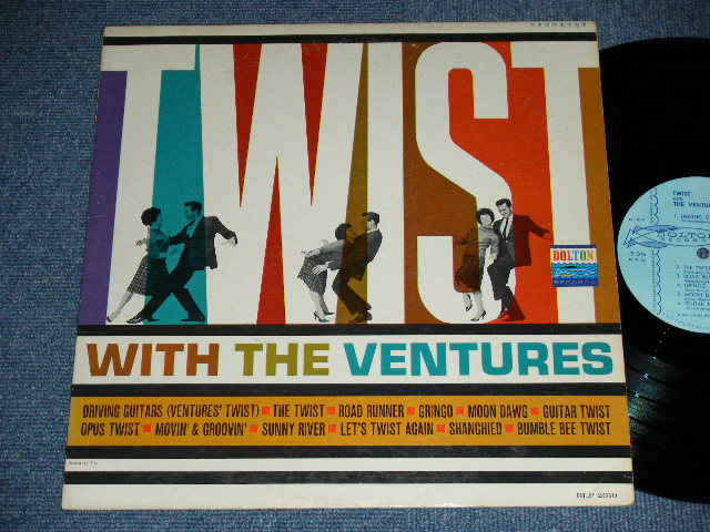 画像1: TWIST WITH THE VENTURES : LIGHT BLUE LABEL