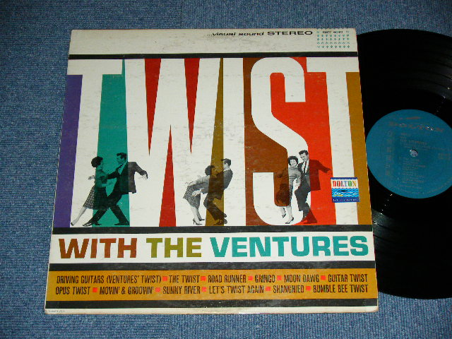 画像1: TWIST WITH THE VENTURES : GREEN LABEL