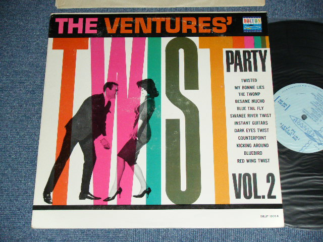 画像1: TWIST PARTY VOL.2  LIGHT BLUE  Label