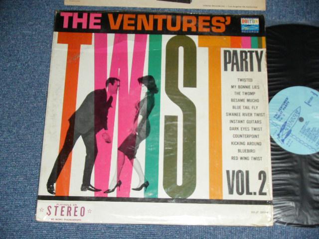 """画像1: TWIST PARTY VOL.2  LIGHT BLUE  LABEL WITH """"STEREO"""" SEAL On BOTTOM"""