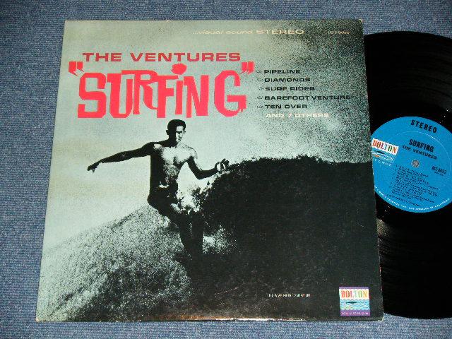 """画像1: """"SURFING""""  DARK  With BLACK PRINT LABEL"""