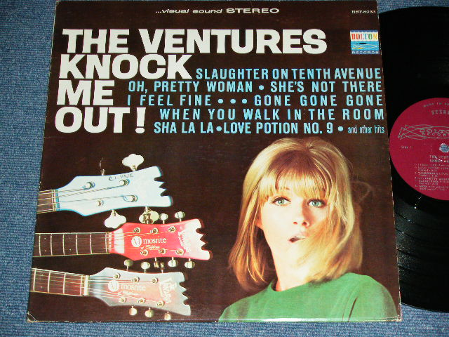 "画像1: KNOCK ME OUT! ( None ""Tomorrow's Love""): CANADA CANADEIAN Pressings"
