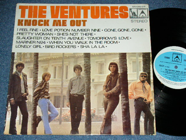 "画像1: KNOCK ME OUT! ( Yes ""Tomorrow's Love""):  AUSTRALIA STEREO Pressings"