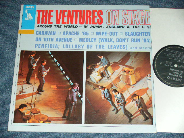 画像1: THE VENTURES ON STAGE   WEST-GERMANY Reissue  STEREO