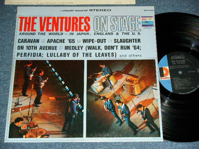 """画像1: THE VENTURES ON STAGE     """"D"""" Mark  Label STEREO"""