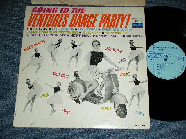 画像1: GOING TO THE VENTURES DANCE PARTY :  LIGHT BLUE LABEL  MONO
