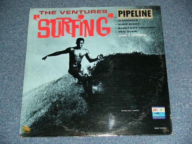 """画像1: """"SURFING"""" With """"PIPELINE"""" STICKER ON FRONT TOP  / BRAND NEW SEALED"""