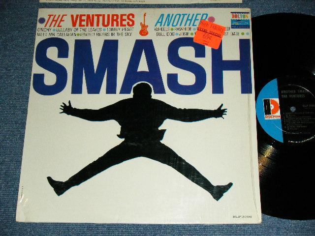 """画像1: ANOTHER SMASH   2nd Issued """"SILHOUETTE  or SHADOW COVER""""  'D' MARK  Label"""